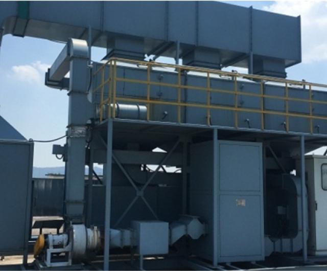 RCO催化燃烧设备工程