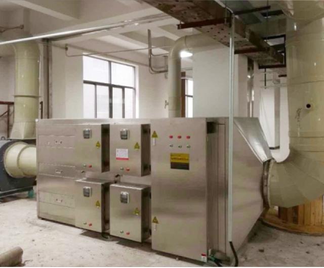 塑料厂废气处理工程