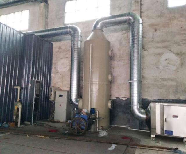 造纸废气处理工程